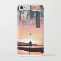 cityscape iPhone & iPod Cases featuring Cityscape by Enkel Dika
