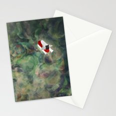 Rocket Ship Stationery Cards