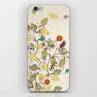 autumn iPhone & iPod Skins featuring Autumn by Kakel