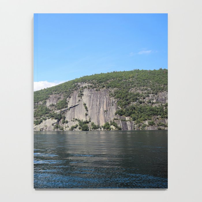 Summer's End: Roger's Rock on Lake George Notebook
