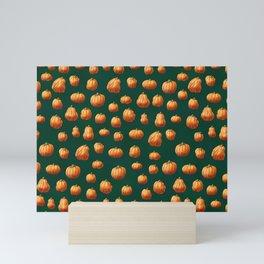 Fall Pumpkins Mini Art Print