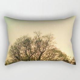 Moon at Dusk Rectangular Pillow