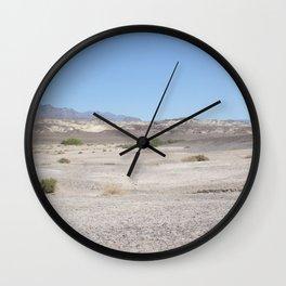 Death Valley scenic Desert Landscape Wall Clock