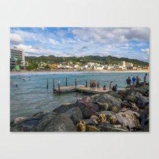 Aguadilla coast 8 Canvas Print