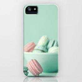Nostalgic macarons, macaroons iPhone Case