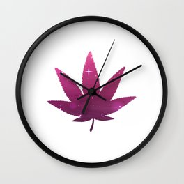 Awesome Cannabis Tee For High People Pot Medical Weed T-shirt Design Marijuana Medication Legalized Wall Clock