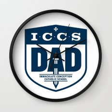 ICCS Dads Wall Clock