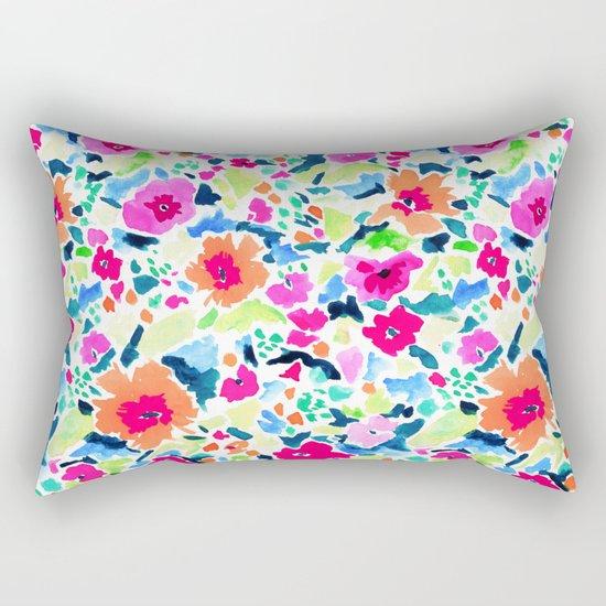 Liv's Room (Orange) Rectangular Pillow