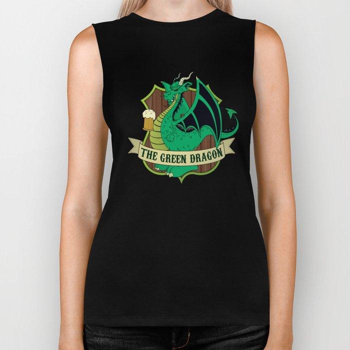 The Green Dragon Pub Biker Tank