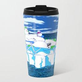 More Ice Please Metal Travel Mug