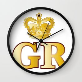 Georges Reign Wall Clock