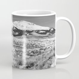 Winter in the Rockies - Mount Elbert on Snowy Winter Day in Colorado Coffee Mug