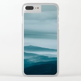 Sunrise without the Sun Clear iPhone Case