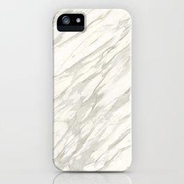 Calacatta gold iPhone Case
