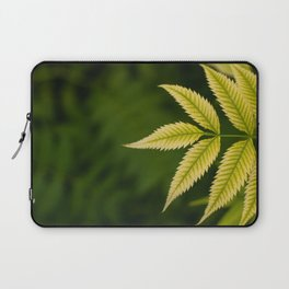 Plant Patterns - Leafy Greens Laptop Sleeve