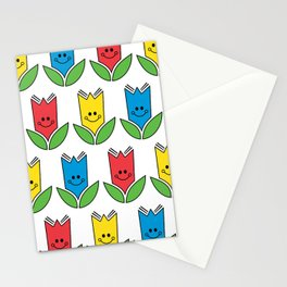 Flowers Of Primary Colors - Fleurs Aux Couleurs Primaires Stationery Cards