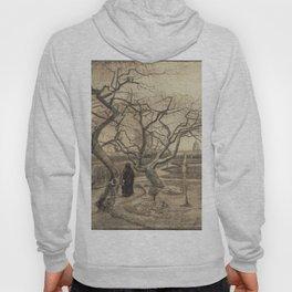 Vincent van Gogh : Winter Garden 1884 Hoody