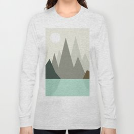 Abstract landscape VII Long Sleeve T-shirt