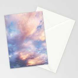Sunset | Pink Clouds | Sky | Rainbow | Unicorn Colours | Nature Stationery Cards