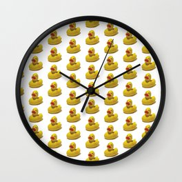 Oh My Duck Wall Clock