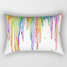 Colorful Icicles Rectangular Pillow