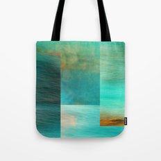 Fantasy Oceans Collage Tote Bag