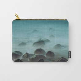 Ocean waves against the rocks Carry-All Pouch