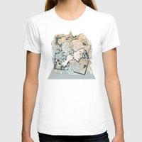 frames T-shirts featuring BROKEN FRAMES by Cassidy Rae Marietta