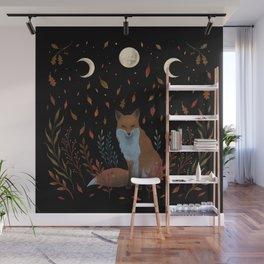 Autumn Fox Wall Mural