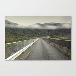 MacIntosh Dam Wall Canvas Print