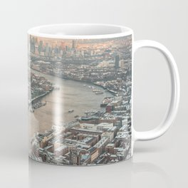 London at sunset from above Coffee Mug