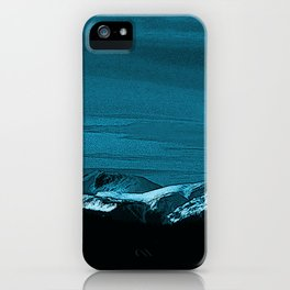 The Mountains Bring Peace iPhone Case
