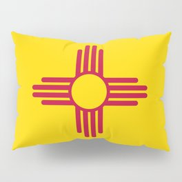 Flag of New Mexico - Authentic High Quality Image Pillow Sham