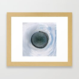 Small Planet X Framed Art Print