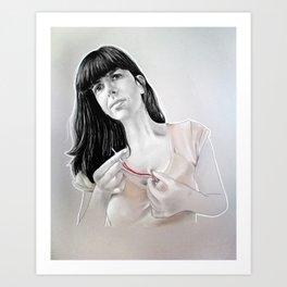 Scar Art Print
