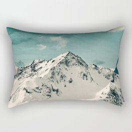 Snow Peak Rectangular Pillow