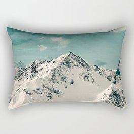 Snow Peak Rectangular Pillow