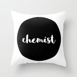 chemist Throw Pillow