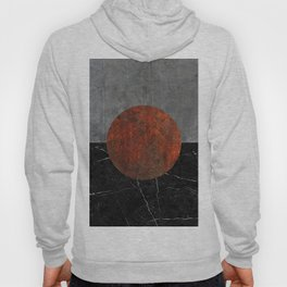 Abstract - Marble, Concrete, and Rusted Iron II Hoody