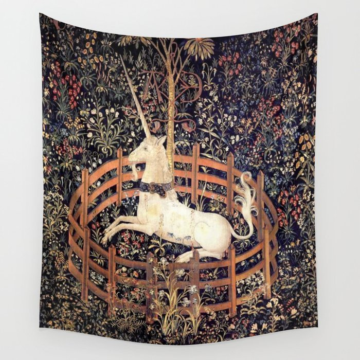 The Unicorn in Captivity Wandbehang
