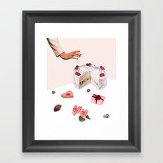 BE MINE Framed Art Print