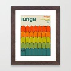 iunga single hop Framed Art Print