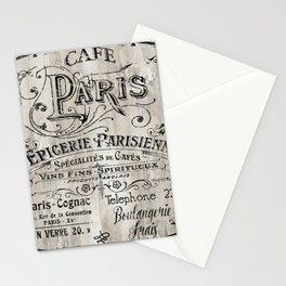 Paris Bistro VIII Stationery Cards