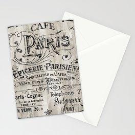 Paris Bistro VIII Stationery Cards