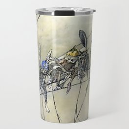 """""""Bother the Gnat Audience"""" by A Duncan Carse Travel Mug"""