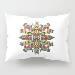Steampunk Snowflake Pillow Sham