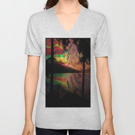reconnected Unisex V-Neck