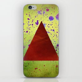 Triangle Composition iPhone Skin