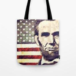 Patriot President Abraham Lincoln Tote Bag