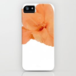 August Gladiolus Flower Shop Owner Gift iPhone Case